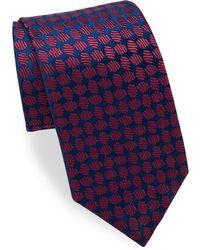 Charvet - Oval Pattern Silk Tie - Lyst