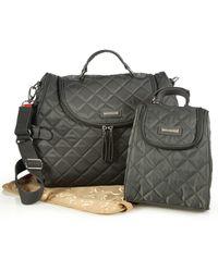 Storksak - Poppy Three-piece Convertible Backpack Diaper Bag - Lyst