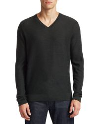 Saks Fifth Avenue - Collection Stripe Wool-blend Sweater - Lyst