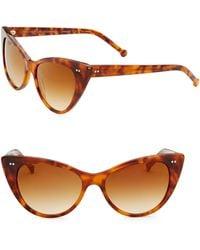 Colors In Optics - Audrey Cat Eye Sunglasses - Lyst