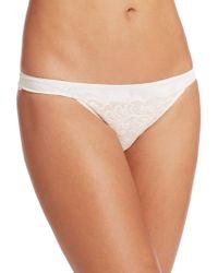 Le Mystere - Sophia Lace Bikini Panties - Lyst