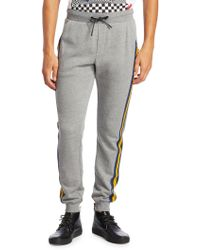 Madison Supply - Striped Jogger Trousers - Lyst