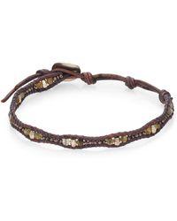 Chan Luu - Labradorite & Leather Bracelet - Lyst
