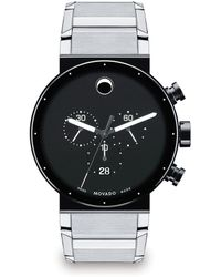 Movado - Sapphire Synergy Chronograph Watch - Lyst