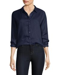 Stateside - Linen Oxford Shirt - Lyst