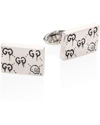 Gucci - Ghost Sterling Silver Cuff Links - Lyst