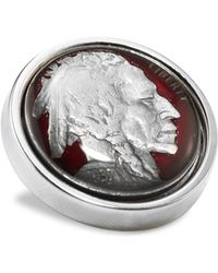 David Donahue - Sterling Silver Nickel Lapel Pin - Lyst