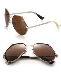 Grey Ant - Embassy 60mm Cutoff Sunglasses - Lyst