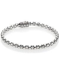 John Hardy | Dot Sterling Silver Slim Bracelet | Lyst