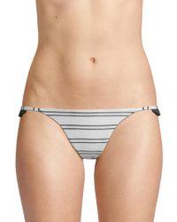 Same Swim - The Pin-up Woven Bikini Bottoms - Lyst