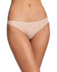 Hanro - Ultralight Thong - Lyst