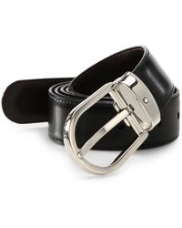 Montblanc - Oval Buckle Belt - Lyst