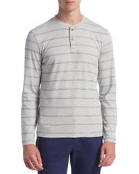Madison Supply - Linear Cotton Top - Lyst