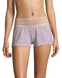 Saks Fifth Avenue - Lori Geometric Boxer Shorts - Lyst