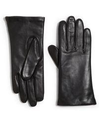 Grandoe - Tech Leather Gloves - Lyst
