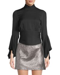 MILLY - Misha Open-back Top - Lyst