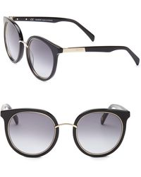 Balmain - 51mm Round Sunglasses - Lyst
