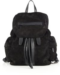 Alexander Wang | Marti Suede Backpack | Lyst