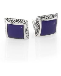 Stephen Webster | Heartbreaker Square Cuff Links | Lyst