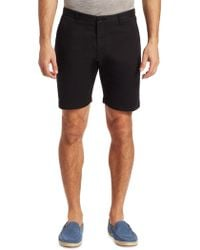 Saks Fifth Avenue - Modern Stretch Cotton Shorts - Lyst