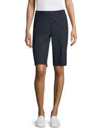 Lafayette 148 New York - Manhattan Slim-fit Bermuda Shorts - Lyst