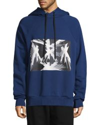 Public School - Bobo French Terry Hoodie With Skyscraper Graphic - Lyst