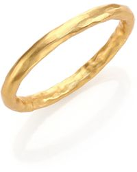 Stephanie Kantis - Nugget Bangle Bracelet - Lyst