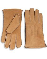 UGG - Sheepskin Gloves - Lyst