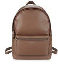 4dc029fce1 Michael Kors - Men s Bryant Pebble-textured Leather Backpack - Luggage -  Lyst