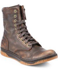 DIESEL - Tatradium Basket Butch Zip Boots - Lyst