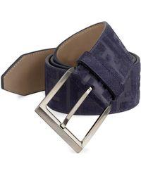 Fendi - Logo Embossed Belt - Lyst