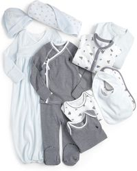 Ralph Lauren - Infant's 11-piece Coverall, Gown, Kimono, Footed Pants, Bodysuits, Bib, Hat & Blanket Set - Lyst