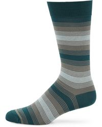 Pantherella | Malvern Graded Mirrored Stripe Socks | Lyst