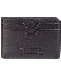Uri Minkoff - Textured Leather Card Holder - Lyst