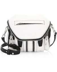 Alexander Wang - Marti Micro Leather Shoulder Bag - Lyst