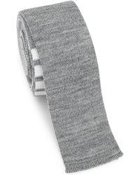 Thom Browne - Knit Wool Tie - Lyst