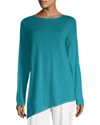 Eileen Fisher - Wool Cashmere & Silk Tunic - Lyst