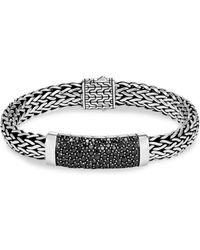 John Hardy - Silver Classic Chain Bracelet - Lyst
