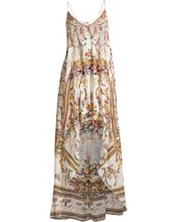 3f63e7e05a8 Camilla - Women s La Fleur Libertine Olympe Ode Floral Silk High-low Dress  - Olympe