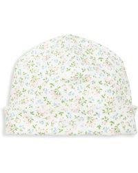Ralph Lauren - Baby's Floral-print Pima Cotton Hat - Lyst