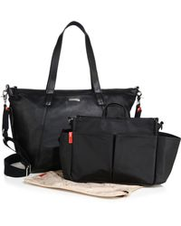 Storksak - Noa Leather Diaper Bag - Lyst