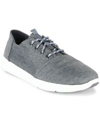 TOMS - Del Rey Canvas Sneakers - Lyst