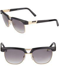Cazal - Half-rim Aviator Sunglasses - Lyst