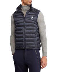 Ralph Lauren Purple Label - Rlx Packable Down Vest - Lyst