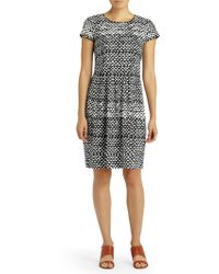 Lafayette 148 New York - Gina Printed Fit-&-flare Dress - Lyst