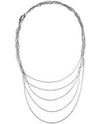 John Hardy - Legends Naga Black & Blue Sapphire Five-row Necklace - Lyst