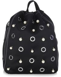 3.1 Phillip Lim - Faux Pearl Embellished Backpack - Lyst