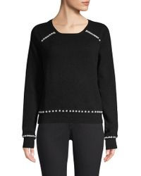 Generation Love - Presley Faux-pearl Cashmere Jumper - Lyst