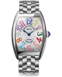 Franck Muller - Cintree Curvex 35mm Color Dreams Stainless Steel Watch - Lyst