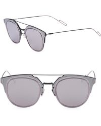 Dior Homme | Composit 62mm Round Sunglasses | Lyst